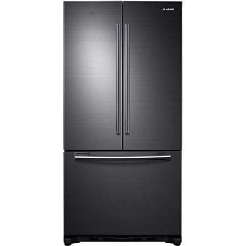 Samsung 20 Cu. Ft. Fingerprint Resistant Black Stainless Steel French Door Refrigerator