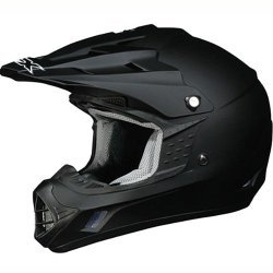 AFX FX-17 Solid Helmet , Size: XL, Primary Color: Black, Helmet Type: Offroad Helmets, Helmet Category: Offroad, Distinct Name: Flat Black, Gender: Mens/Unisex -
