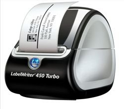 Dymo Labelwriter 450 Turbo USB with Software 71 per minute 600x300dpi Ref - Dymo Software Labelwriter
