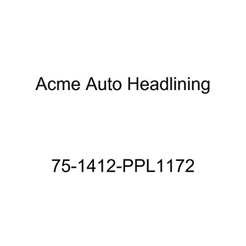 Acme Auto Headlining 75-1412-PPL1172 Brown Replacement Headliner (1975 Chevy Caprice and Impala Custom 2 Dr Hardtop w/Qtr Window (5 Bow))