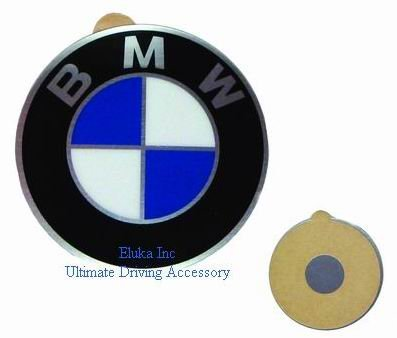 BMW Genuine Wheel Center Cap Emblem Decal Sticker 45mm