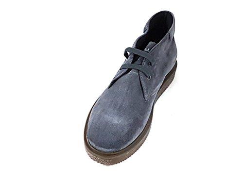 FRAU , Herren Sneaker Blau Avio