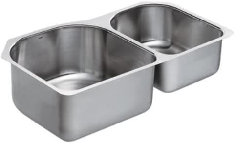 Moen 22376 Kitchen Sink 2 Bowl Double Bowl Sinks Amazon Com