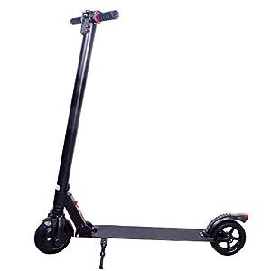 HAOYF Monopattino Elettrico per Adulti Pieghevole da 6,5 Pollici, Lo Scooter Acrobatico con Pneumatici Solidi, Doppio…