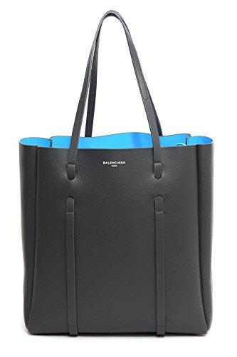 Balenciaga Borsa Shopping Donna 475199D6W1N1160 Pelle Grigio