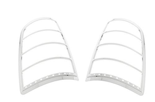 Fits 09-15 DODGE RAM - Chrome Tail Light - Light Ses Tail Trim