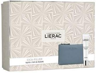 Lierac Cica-Filler Crema + Estuche + Funda de piel Rue des Fleurs: Amazon.es: Belleza