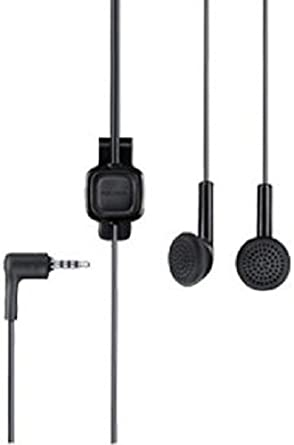 Nokia CNE95127 WH-102 HS-125 3.5mm Stereo Headset - Non-Retail Packaging - Black Wired Headsets at amazon