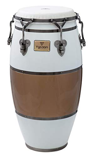 (Tycoon Percussion TSCHBC130CCL Signature Heritage Cafe Con Leche Series Tumba 12 1/2 Conga)