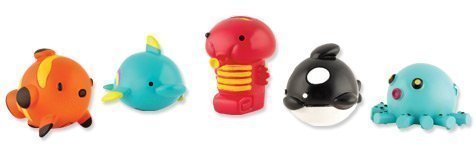 Price comparison product image Sqwishland Sea Mania Collection Complete Set Of 5 With Game Codes