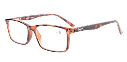 Eyekepper Stylish Readers Quality Spring Hinges Reading Glasses Tortoiseshell - Optical Quality