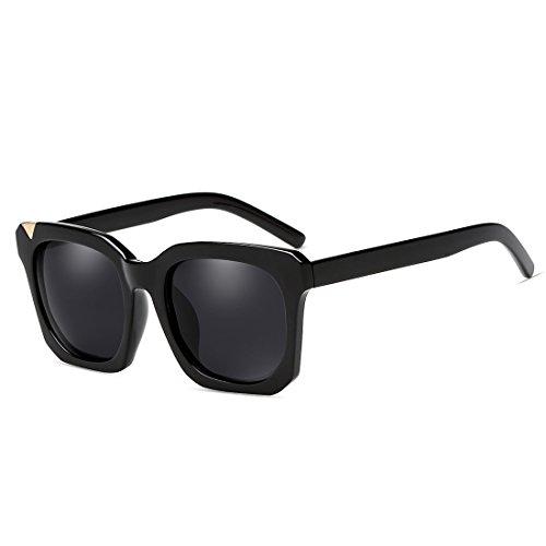 unisexe Couleur lunettes soleil D pêche conduite C soleil Lunettes pour femmes hommes Vintage ZHIRONG carré cadre de de polarisées FzcnaU