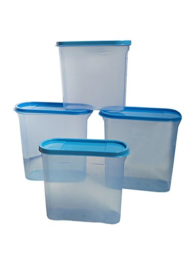 Buy Inddus Modular Storage Container Air Tight - Food Grade - BPA Free - Pack of 4 (2 of 1600ml 2 of 900ml) with Free 12 Mix Bag Clips Online at Low Prices ...  sc 1 st  Amazon.in & Buy Inddus Modular Storage Container Air Tight - Food Grade - BPA ...