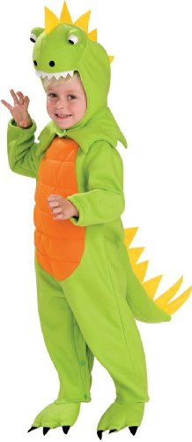 Costumes Toddler (Rubies Talking Plush Dinosaur Child Costume,)