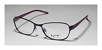 Lightec 6961l Mens/Womens Ophthalmic Casual Designer Full-rim Spring Hinges Eyeglasses/Eyeglass Frame