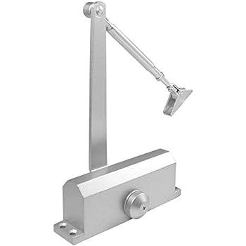 Homee Door Closer Satin Stainless Steel Aluminum Alloy