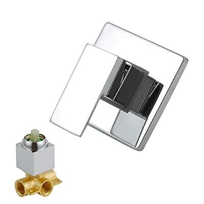 Dr Faucet Mixer Valve, Brass Faucet Valve,Shower Mixer Valve and Trim Kit Bathroom Faucet Shower Mixer Control Dr-1500