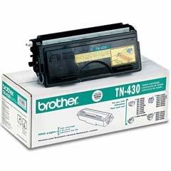 Original Brother TN-430 (TN430) 3000 Yield Black Toner Cartridge - Retail - Genuine Oem Fax