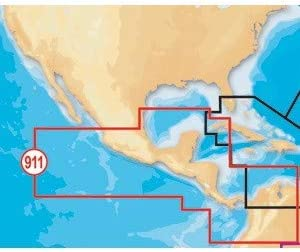 Navionics Platinum Plus Gulf of Mexico Central on SD//Micro SD