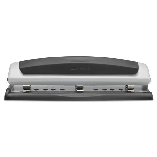PrecisionPro 74037 Swingline Double Metal Construction Adjustable Head 9/32'' Desktop Punch