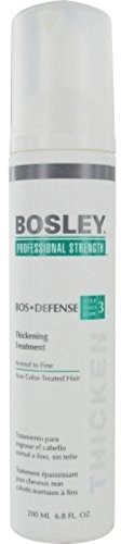 Bosley Bos-Defense Thickening Treatment, Normal To Fine Non Color-Treated Hair, 6.8 oz (Pack of 3)