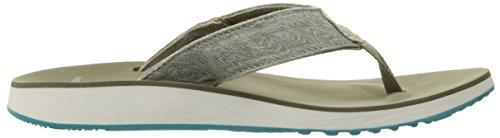 Silver Merrell Women's Lining Sandal Flip Thong Duskair SqXr8qC