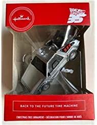 NEW Hallmark 2020 Back To The Future Time Machine Christmas ORNAMENT