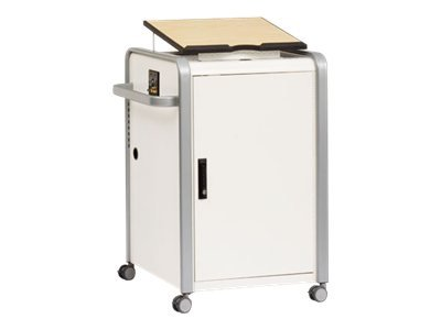 "Bretford Manufacturing, Inc - Bretford Edupst Presentation Stand - Hinged Door - 44"" Height X 28.8"" from Bretford"