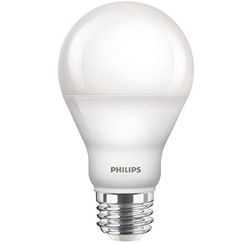 Philips 455824 60W Equivalent A19 LED with Warm Glow, Dimmable LED 4-PACK