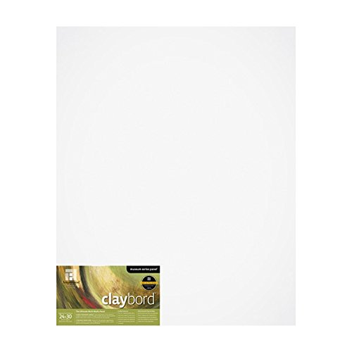 Ampersand Museum Series Claybord Panels for Paint and Ink, 1.5 Inch Depth Cradled, 24X30 Inch (CBSCG2430)