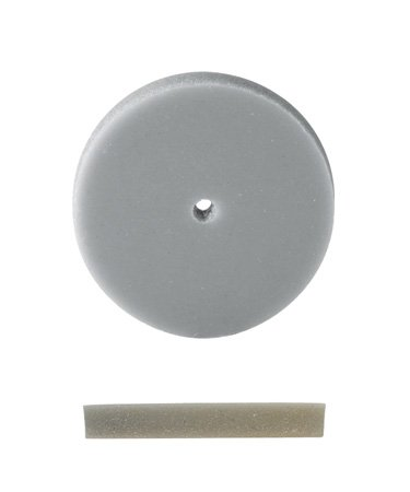 EURO TOOL Pumice Wheel, Square Edge, Fine Grit, 7/8 Inch, Pack Of 12 | POL-350.30