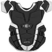 Easton Stealth Speed Catchers - Easton Adult Stealth Speed Chest Protector, Black
