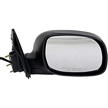 Kool Vue Mirror For 2000-2004 Toyota Tundra Left Black Base