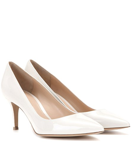 Shoes Chaussures EDEFS Escarpins Bureau Pointu Femme Classique Bout Heel cm Fermé Blanc 6 Soiree Kitten nwUqwcO41