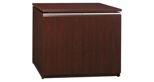 Bush Milano Collection Storage Cabinet 33-7/8 x 21-3/8 x 25-1/8 Harvest Cherry (Milano Collection Storage)