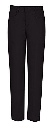 CLASSROOM Big Girls'  Adjustable Waist Low Rise Pant, Black, 14
