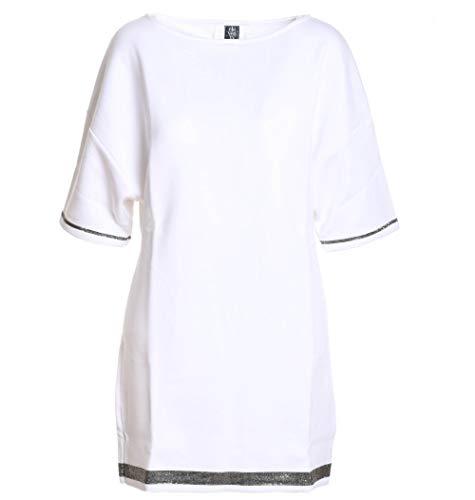 Eleventy Blanco Mujer Algodon Vestido 980fe0082fel2301301 64qwFnrY6