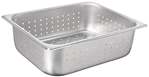 Winco SPHP4 4-Inch Pan, Half Size