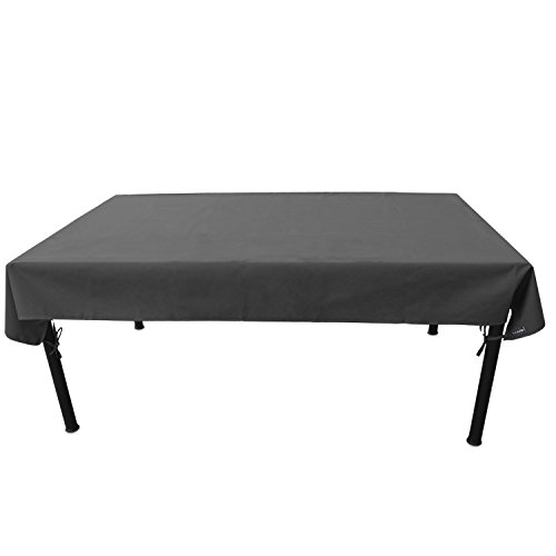 Duraviva Outdoor Patio Table Weatherproof Cover - Waterproof, Easy to Install - Fits Rectangular/Oval Tables Within 55 x 85 - 7' Table Picnic