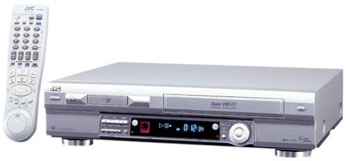 JVC HRDVS3U Mini-DV/S-VHS Combo, Silver - Digital Time Base Corrector