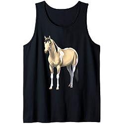 Buttermilk Buckskin Pinto Quarter Horse Paint Horse Tank Top
