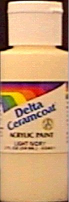 Plaid Delta Ceramcoat Acrylic Paint 2oz-Barn Red - Opaque