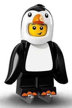 LEGO Series 16 Collectible Minifigures - Penguin Suit Boy (71013) (Lego Suit)