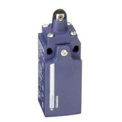 Telemecanique capteurs Xckn2102p20 Limit Switch avec rouleau Piston, plastique, sé rie Xckn, liné aire Tê te, M20 x 1,5 Câ ble Glande, 1 NC + 1 NO Snap Action contacts série Xckn linéaire Tête M20x 1