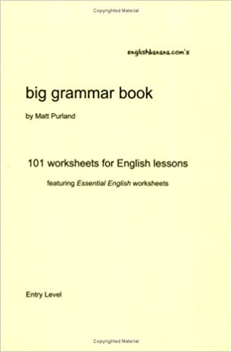 Counting Number worksheets math go worksheets : English Banana.com's Big Grammar Book: 101 Worksheets for English ...