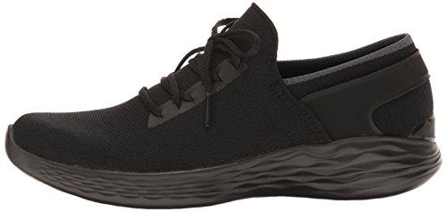 Skechers You Women's You Inspire Slip-On Shoe,Black,5 M US by Skechers (Image #5)