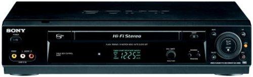 Sony SLV-N900 4-Head Hi-Fi VCR, Black