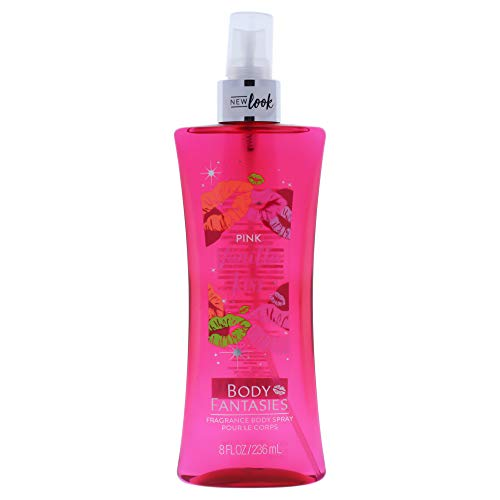 Body Fantasies Signature Fragrance Body Spray, Pink Vanilla Kiss Fantasy, 8 Fluid Ounce ()