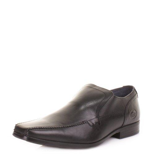 Base Men's Birkdale Leather Slip Ons