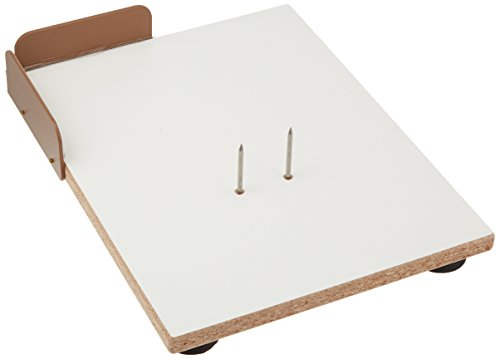 Swedish Cutting Board - Sammons Preston Deluxe Laminate Paring Board, Large Multipurpose One Handed Cutting Board with Plastic Corner Guard, Spikes, Chopping Board with Suction Cup Feet to Prevent Sliding, Serving Board
